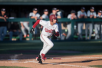 STANFORD, CA - MAY 27: Nick Brueser during a game between Oregon State University and Stanford Baseball at Sunken Diamond on May 27, 2021 in Stanford, California.