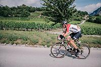 Adam Hansen (AUS/Lotto-Soudal)<br /> <br /> Stage 5: Gstaad > Leukerbad (155km)<br /> 82nd Tour de Suisse 2018 (2.UWT)