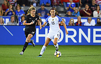 Commerce City, CO - Friday September 15, 2017: Alex Morgan during an International friendly match between the women's National teams of the United States (USA) and New Zealand (NZL) at Dick's Sporting Goods Park.