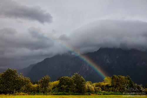 Rainstorm on Mount Si, North Bend, Washington