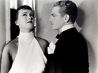 James Cagney with Margaret Lindsay (L) in LADY KILLER