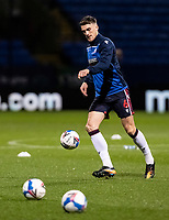 Bolton Wanderers' Ryan Delaney warming up before the match <br /> <br /> Photographer Andrew Kearns/CameraSport<br /> <br /> The EFL Sky Bet League Two - Bolton Wanderers v Mansfield Town - Tuesday 3rd November 2020 - University of Bolton Stadium - Bolton<br /> <br /> World Copyright © 2020 CameraSport. All rights reserved. 43 Linden Ave. Countesthorpe. Leicester. England. LE8 5PG - Tel: +44 (0) 116 277 4147 - admin@camerasport.com - www.camerasport.com