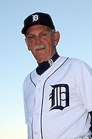 Feb 21, 2009; Lakeland, FL, USA; The Detroit Tigers manager Jim Leyland (10) during photoday at Tigertown. Mandatory Credit: Tomasso De Rosa/ Four Seam Images