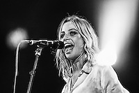 INVERCARGILL, NEW ZEALAND - NOVEMBER 22: Gin Wigmore performs on stage during her Blood To Bone NZ Tour  at the Civic Theatre on November 22, 2015 in Invercargill, New Zealand (Photo by Dianne Manson/Getty Images)
