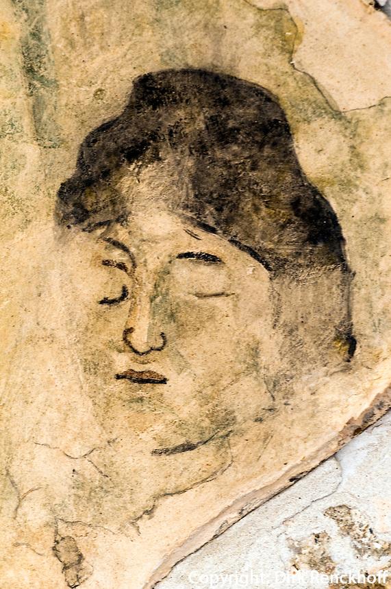 Nordzypern, antike Stadt Salamis, Fresken in den Thermen