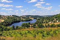 France, Yonne, Regional Natural Park of Morvan, Marigny l'Eglise, Lac de Crescent // France, Yonne (89), Parc naturel régional du Morvan, Marigny-l'Église, lac de Crescent