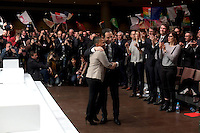 Christiane Taubira, Benoit Hamon investiture de BenoÓt Hamon a la presidentielle du Parti Socialiste (PS) a la mutualitÈ de Paris, le dimanche 5 fÈvrier 2017