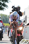 Ben O'Connor (AUS) AG2R Citroën Team during Stage 20 of the 2021 Tour de France, an individual time trial running 30.8km from Libourne to Saint-Emilion, France. 17th July 2021.  <br /> Picture: Colin Flockton | Cyclefile<br /> <br /> All photos usage must carry mandatory copyright credit (© Cyclefile | Colin Flockton)