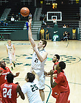 It was Senior night at Devlin Fieldhouse as Tulane hosted Houston in men's basketball. Houston went on to drop Tulane, 68-63, in OT.
