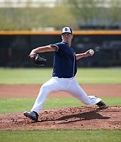 MacKenzie Gore - San Diego Padres 2019 spring training (Bill Mitchell)