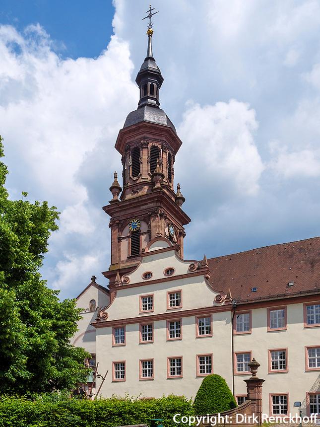 Stadtkirche in Gengenbach, Ortenaukreis, Baden-Württemberg, Deutschland, Europa<br /> city church in Gengenbach, Ortenaukreis, Baden-Wuerttemberg, Germany, Europe