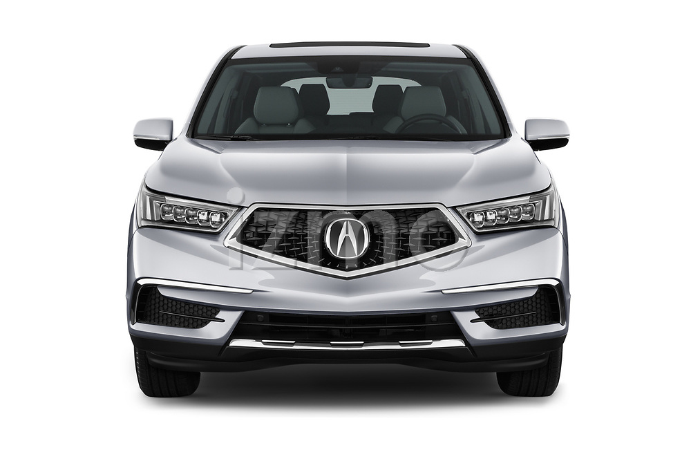 Straight front view of a 2020 Acura mdx Base 5 Door SUV