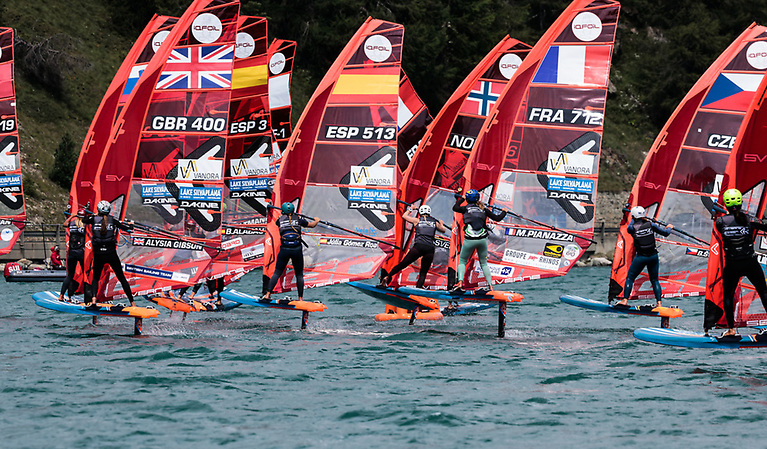 IQFoil-The first-ever World Championship of the official sailboard for the 2024 Paris Olympic Games