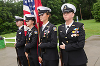 "Michael McCollum<br /> 8/2/18<br /> The Bearden High School Cadets at the reveal ceremony where it was announced to 13 year old Ryan Overman of west Knoxville that The Wish Connection is granting Ryan's wish to go to Washington DC and visit the White House at Carl Cowan Park, 10058 S Northshore Dr, Knoxville, TN , Thursday, August 2, 2018 at 5:45pm. Approximately 50-60 people attended, including the Overman family, friends, and AT&T Employees. The Bearden High School Cadets also attended and lead the pledge of allegiance.<br />  The AT&T Wish Connection is going to send Ryan, his family, and his service dog to Washington DC and while they are gone, the group of volunteers will be doing a makeover on his bedroom and turn it into the ""Oval Office"" at the White House.<br /> Ryan was born two weeks prematurely on May 13, 2005.  During the pregnancy he was classified as high risk due to a measured lack of growth and, after a brief stay in the hospital, he came home weighing only 4 lbs 5 oz.  His development was much slower compared to his peers, such as not learning to walk until he was well over a year old, and he was much smaller. The Overman family worked with Tennessee Early Intervention Services (TEIS) when Ryan was about one year old and with their help they were able to get Ryan enrolled through TEIS to receive Occupational, Physical, and Speech Therapy.  When Ryan turned three he transitioned from TEIS to the Knox County Early Intervention Program and began attending a special school to continue his therapies until he was old enough to enroll at Cedar Bluff Elementary and now is at Cedar Bluff Middle School. In 2016, Ryan was diagnosed to have retinitis pigmentosa, a degenerative disease of the retinas that under the best of circumstances causes severe tunnel vision, but more commonly results in complete blindness.<br />  Despite the physical difficulties that Ryan has had to endure over the last thirteen years, he continually brightens the lives of those around him.  If someone is h"