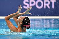 MURRU Marta ITA <br /> Solo Tech - FINAL <br /> Artistic Swimming<br /> Budapest  - Hungary  11/5/2021<br /> Duna Arena<br /> XXXV LEN European Aquatic Championships<br /> Photo Andrea Staccioli / Deepbluemedia / Insidefoto