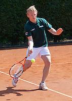 11-5-09, Tennis, Sportpromotion tennisdag, Dirk Kuijt