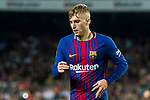 Gerard Deulofeu Lazaro of FC Barcelona reacts during the La Liga 2017-18 match between FC Barcelona and Malaga CF at Camp Nou on 21 October 2017 in Barcelona, Spain. Photo by Vicens Gimenez / Power Sport Images