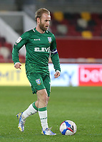 Barry Bannan of Sheffield Wednesday in action during Brentford vs Sheffield Wednesday, Sky Bet EFL Championship Football at the Brentford Community Stadium on 24th February 2021