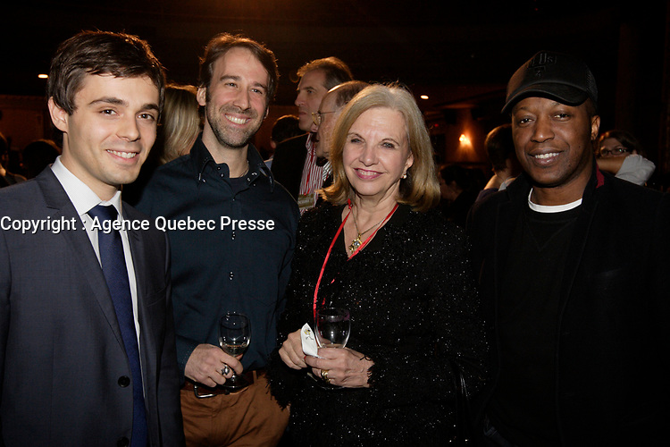 Montreal, Canada - November 6 - Monique Jerome-Forget on the red carpet premiere of Fontaine's movie GEMMA BOVERY that is opening the 20th  CINEMANIA Festival, November 6, 2014. <br /> <br /> Photo :  Agence Quebec Presse - Pierre Roussel
