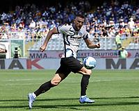 i3712th September 2021; G.Ferraris Stadium, Genoa, Italy; Serie A football, Sampdoria versus Inter Milan; Milan Skriniar of Inter Milan accepts the forward pass
