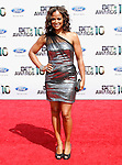 Layla Ali arrives at the 2010 BET Awards at the Shrine Auditorium in Los Angeles, California on June 27,2010                                                                               © 2010 Hollywood Press Agency