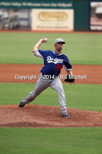Chris Anderson - 2014 AIL AIL Dodgers (Bill Mitchell)