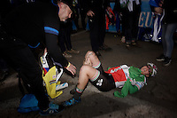 Eva Lechner (ITA/Colnago-SudTirol) post-race<br /> <br /> Superprestige Diegem 2015