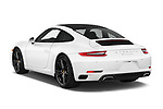 Car pictures of rear three quarter view of 2017 Porsche 911 Carrera-Coupe 2 Door Coupe Angular Rear