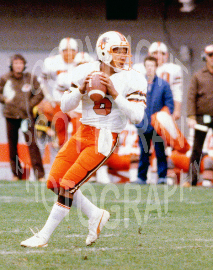 Joe Paopao BC Lions quarterback Copyright photograph Scott Grant
