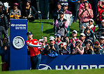 Hyo-Joo Kim of Korea plays a shot during the Hyundai China Ladies Open 2014 at World Cup Course in Mission Hills Shenzhen on December 14 2014, in Shenzhen, China. Photo by Xaume Olleros / Power Sport Images