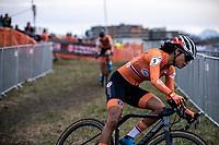 Ceylin Del Carmen Alverado (NED)<br /> <br /> Women's Elite Race<br /> UCI 2020 Cyclocross World Championships<br /> Dübendorf / Switzerland<br /> <br /> ©kramon