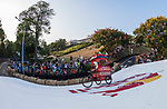 Team 阿斯巴拉  in action during the Red Bull Soapbox Race 2017 Taipei at Multipurpose Gymnasium National Taiwan Sport University on 01 October 2017, in Taipei, Taiwan. Photo by Victor Fraile / Power Sport Images