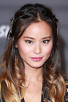 HOLLYWOOD, LOS ANGELES, CA, USA - NOVEMBER 04: Jamie Chung arrives at the Los Angeles Premiere Of Disney's 'Big Hero 6' held at the El Capitan Theatre on November 4, 2014 in Hollywood, Los Angeles, California, United States. (Photo by David Acosta/Celebrity Monitor)