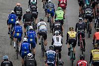 World Champion Peter Sagan (SVK/Bora Hansgrohe) hidden in the peloton. <br /> <br /> Binckbank Tour 2017 (UCI World Tour)<br /> Stage 4: Lanaken > Lanaken (BEL) 155km