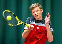 Wateringen, The Netherlands, December 4,  2019, De Rhijenhof , NOJK 14 and18 years, <br /> Photo: www.tennisimages.com/Henk Koster