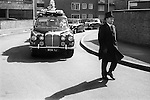 Funeral procession, Hoxton east London uk.  1978