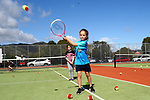 NELSON, NEW ZEALAND - SEPTEMBER 23: Evie Kidson at the Open Day Tennis on September 23 2017 in Nelson, New Zealand. (Photo by: Evan Barnes Shuttersport Limited)