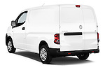 Car pictures of rear three quarter view of 2015 Nissan NV200 Visia 5 Door Cargo Van angular rear