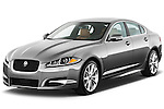 Front three quarter view of a 2012 Jaguar XF Portfolio