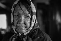 Poverty, health, alcohol and home violence - these are the problems every person who remained int exclusion zone faces. Sentenced for attacking and robbing their neighbor Tanya's husband came back home and beats her - one can tell by bruises on her face.