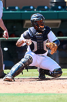 Detroit Tigers catcher Julio Rodriguez (24) during a game vs. the Washington Nationals in an Instructional League game at Joker Marchant Stadium in Lakeland, Florida;  October 1, 2010.   Photo By Mike Janes/Four Seam Images