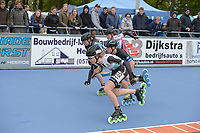 INLINE-SKATEN: HEERDE: 05-05-2019, Holland Cup Inline-Skaten, Sandrine Tas, ©foto Martin de Jong