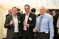 From left are Ben Peterson of Gateley Plc, Stuart Graham of HSBC Bank and Clive Day of Gateley Plc