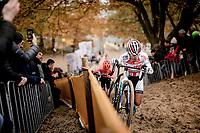 (even a U23 rider herself) Ceylin Del Carmen Alvarado (NED/Corendon-Circus) wins her very first (elite) World Cup <br /> <br /> Women's Race<br /> UCI cyclocross WorldCup - Koksijde (Belgium)<br /> <br /> ©kramon