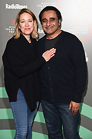 """Nicola Walker and Sanjeev Bhaskar<br /> at the """"Unforgotten"""" photocall as part of the BFI & Radio Times Television Festival 2019 at BFI Southbank, London<br /> <br /> ©Ash Knotek  D3494  13/04/2019"""