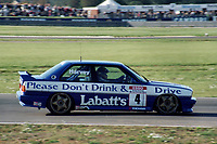 Final round of the 1991 British Touring Car Championship. #4 Tim Harvey (GBR). BMW Team Labatt's. BMW M3.