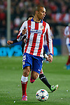 Atletico de Madrid´s Joao Miranda during the UEFA Champions League round of 16 second leg match between Atletico de Madrid and Bayer 04 Leverkusen at Vicente Calderon stadium in Madrid, Spain. March 17, 2015. (ALTERPHOTOS/Victor Blanco)