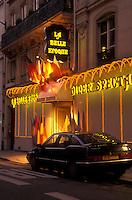 AJ0767, Paris, France, Europe, La Belle Epoque dinner theater at [night, evening] in Paris.