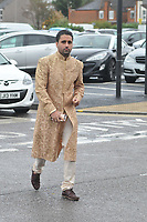 Liam Gatsby<br /> arriving for filming for the Towie Diwali party at sugar hut brentwood essex <br /> <br /> ©Richard Open snappers