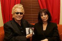 Renee Claude album launch, February 15 2006 at Lion D Or , Montreal.<br /> photo : Delphine descamps - Images Distribution